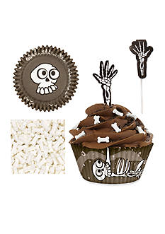 Wilton Bakeware Skeleton Cupcake Decorating Kit