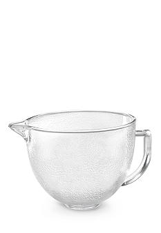 KitchenAid® 5-qt. Hammered Glass Bowl