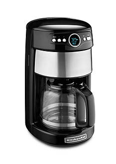 KitchenAid 14 CUP GLASS CARAFE COFFEE MAKER ONYX BLACK