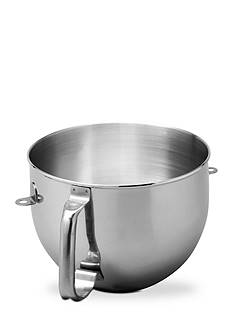 KitchenAid Stainless Steel Mixing Bowl with Ergo Handle for 6-qt. Mixers KN2B6PEH