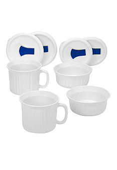 Corningware French White 8 pc. Pop Ins Mug set - Online Only