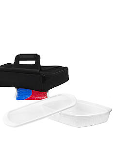 Corningware 3 qt Oblong Baking Dish With Carrier - On Line Only