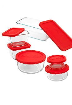 Pyrex 12 Piece Glass Storage Set with Lids