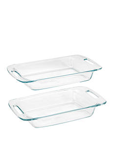 Corning 2-Piece Oblong Easy Grab Bakeware Set Value Pack