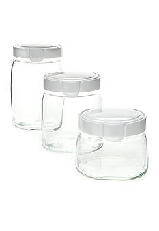 Snapware 6 piece Glass Canister Set