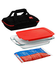 Pyrex Black Portables Bakeware Set
