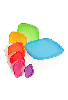 Kaleidoscope 14 piece Nested Food Storage Set