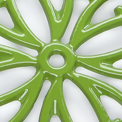 Cooks Tools™ For The Home Sale: Green Cooks Tools™ Round Iron Trivet