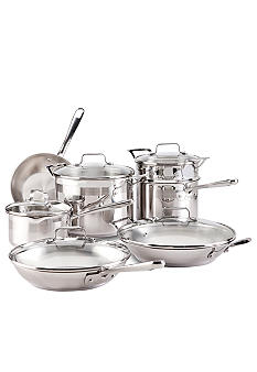 Emerilware Stainless Steel 12-Piece Cookware Set