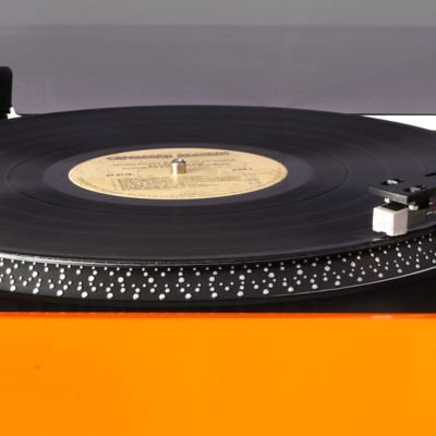 Black Friday Online Deals: Orange Crosley Advance Stereo USB Turntable CR6009A - Online Only