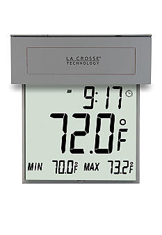 LaCrosse Technology Solar Window Thermometer - Online Only