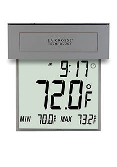 LaCrosse Technology Solar Window Thermometer