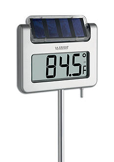 LaCrosse Technology Solar Powered Digital Garden Thermometer