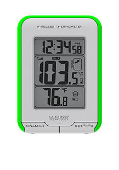 LaCrosse Technology Weather Station with Wireless Thermometer and Temperature Trend Indicator