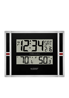 LaCrosse Technology 11-in. Digital Clock with Temperature