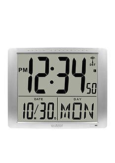 LaCrosse Technology Atomic Large 16-in. Digital Wall Clock