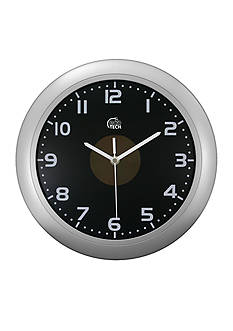 Equity by La Crosse Solar Analog Wall Clock