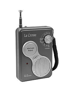 LaCrosse Technology AM/FM Handheld NOAA Weather Radio