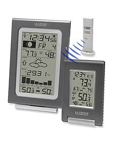 LaCrosse Technology Weather Combo Pack with Forecast Station and Desktop Display