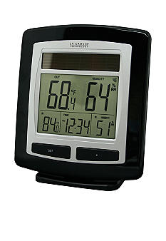 LaCrosse Technology Wireless Solar Temperature Station - Online Only