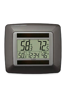 LaCrosse Technology Solar Digital Temperature Station WS-8120U-IT-BR-T - Online Only