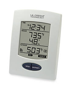 LaCrosse Technology Wireless Temperature Humidity Station with Detachable Probe