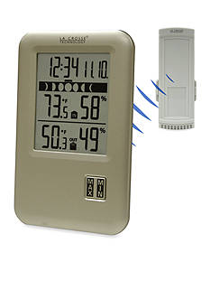 LaCrosse Technology Wireless Weather Station with Moon Phase