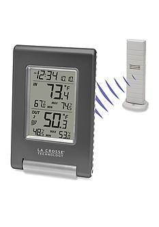 LaCrosse Technology Wireless Temperature Station with Weather Boy Icon