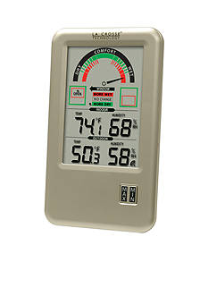 LaCrosse Technology 5-in. Comfort Meter with In and Out Temperature & Humidity