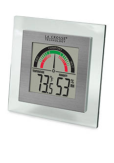 LaCrosse Technology Indoor Comfort Meter with Temp and Humidity