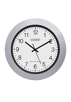 LaCrosse Technology 10-in. Atomic Analog Clock