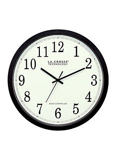 LaCrosse Technology 14-in. Atomic Analog Wall Clock - Online Only
