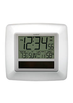 LaCrosse Technology Solar Atomic Digital Wall Clock