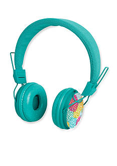 The Black Series Printed Headphones Flora
