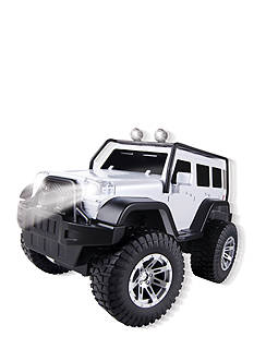 The Black Series Remote Control Jeep Explorer - White
