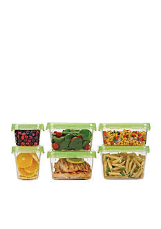 Oxo 12-pc. Lock Top Green Container Set
