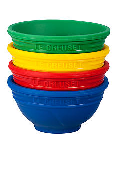 Le Creuset Multi Color Pinch Bowls - Set of 4