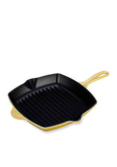 Le Creuset 10.25-in. Square Cast Iron Skillet Grill - Online Only