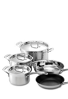 Le Creuset Tri-Ply Stainless Steel 8PC Set - Online Only