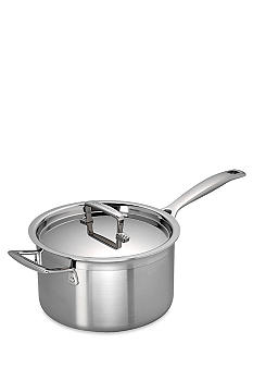 Le Creuset Tri-Ply 3-qt. Sauce Pan with Lid - Online Only