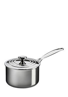 Le Creuset 2-qt. Stainless Steel Saucepan with Lid