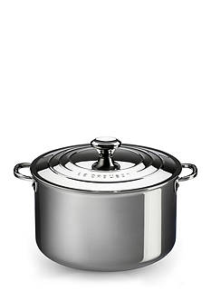 Le Creuset 3-qt. Stainless Steel Casserole with Lid