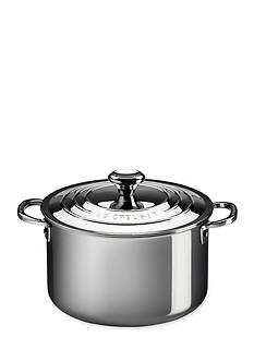 Le Creuset 11-qt. Stainless Steel Stock Pot with Lid