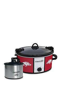 University of Arkansas CrockPot Slow Cooker with Lil Dipper