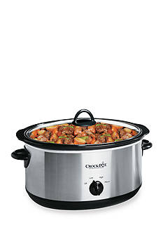 CrockPot 7 Qt. Slow Cooker SCV700SS - Online Only
