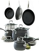 Biltmore® For Your Home Hard Anodized Aluminum 13-Piece Belly Shaped Cookware Set