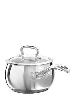 Biltmore Professional Chef Series Belly Shaped Stainless Steel 2.3-qt. Saucepan