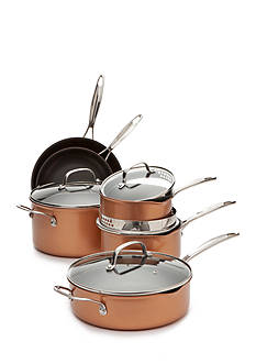 Biltmore 10-Piece Gourmet Non-Stick Aluminum Cookware Set
