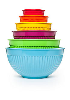 Cooks Tools™ 6-Piece Ribbed Mixing Bowl Set
