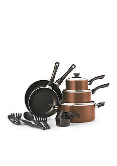 Cooks Tools™ 17-Piece Non-Stick Aluminum Cookware Set - Copper